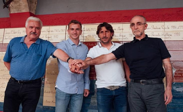 Moviments de banquetes: un gran fitxatge per a l'equip de la Garrotxa, Albert Carbó. Arriba del Peralada // FOTO: UE Olot