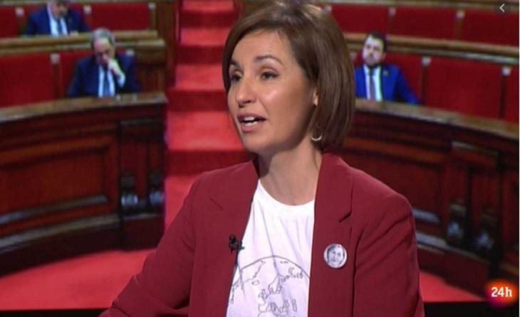 Anna Caula és l'actual secretària general de l'esport de la Generalitat de Catalunya // FOTO: Captura RTVE