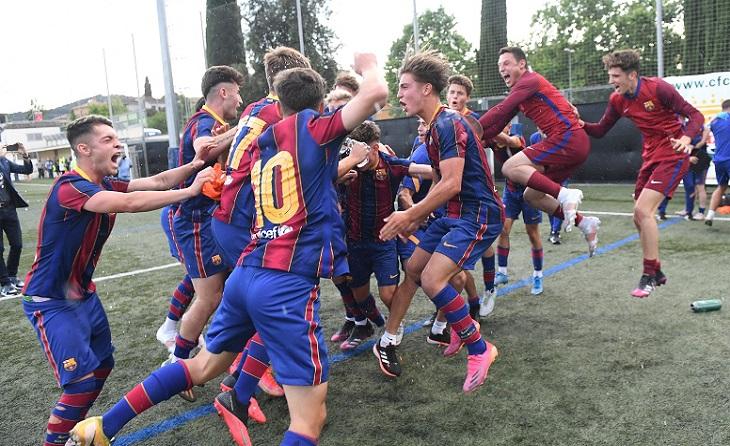 Barcelona juvenil, campions