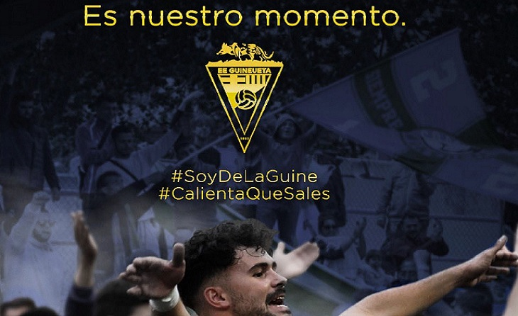 Club, equip, tècnics i afició saben que aquest diumenge es juguen molt davant el Sant Cugat // FOTO: EE Guineueta
