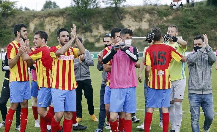 El Tona observarà expectant el partit ajornat entre Lloret i Llagostera B aquest pròxim dijous // FOTO: Fundació Tona