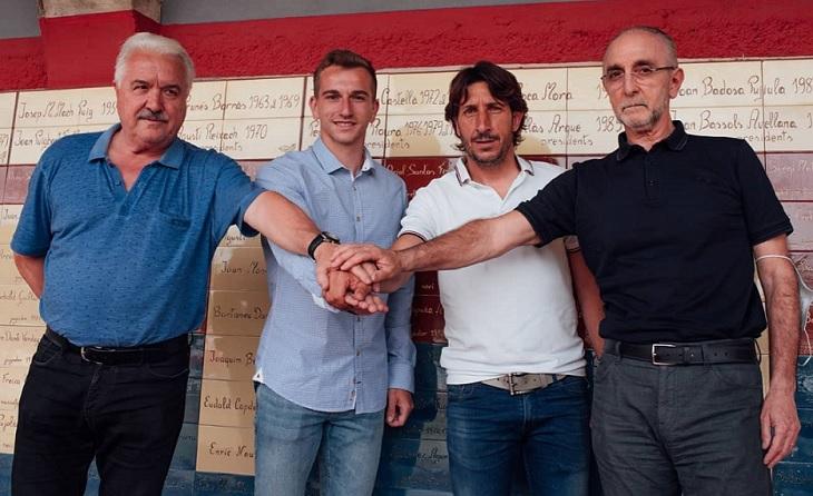 Aquest equip també guanya Lligues amb el seu president Joan Agustí al capdavant // FOTO: Nuri Margui