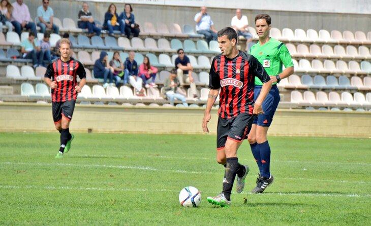 Al Reus Deportiu, Moyano va estar a les ordres de Natxo González i va acabar a la 2ab a Badalona // FOTO: CF Reus Deportiu