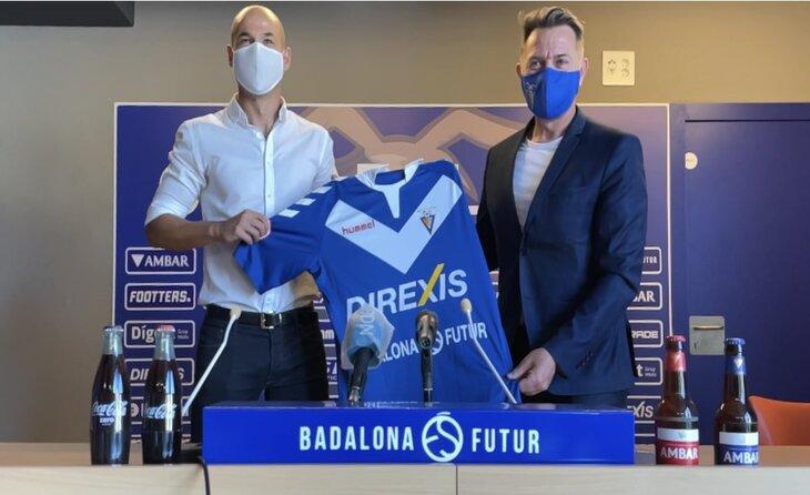 Nacho Alfonso, el nou tècnic escapulat per aquesta temporada 2021-2022 // FOTO: CF Badalona