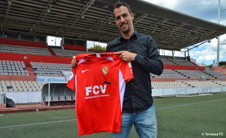 Jordi López dirigirà el nou projecte terrassista // FOTO: Terrassa FC
