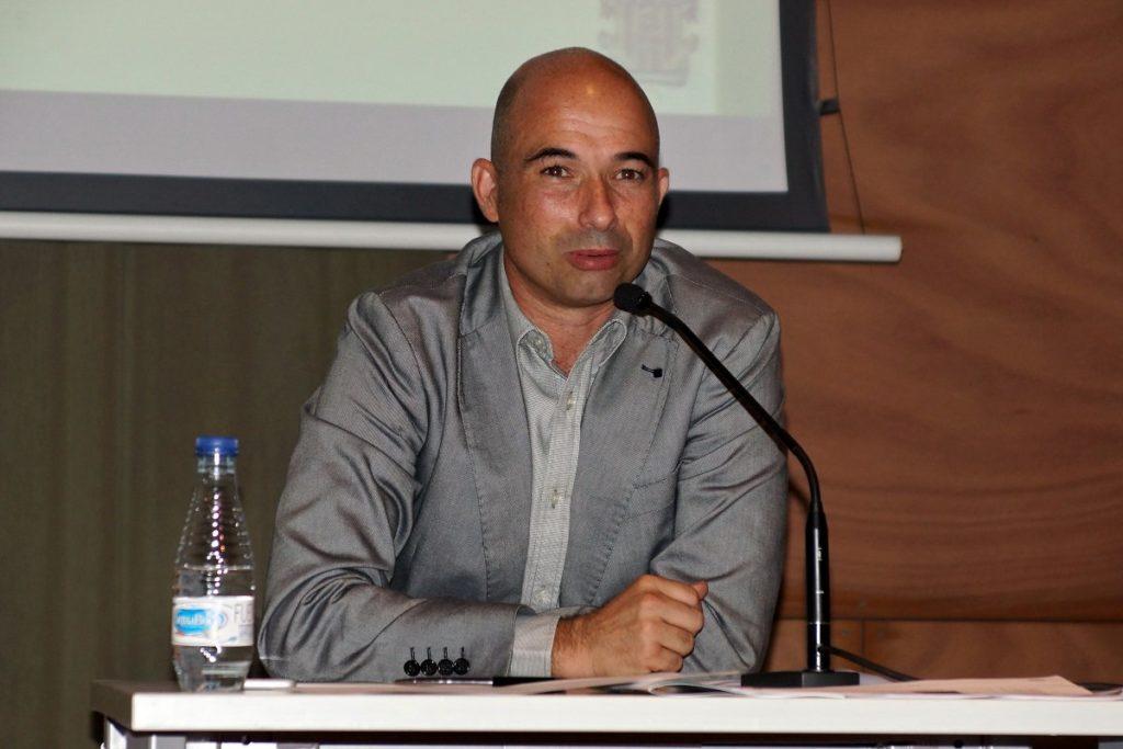Andrés Manzano opina sobre la Primera RFEF, que començarà en un mes // FOTO: UE Cornellà