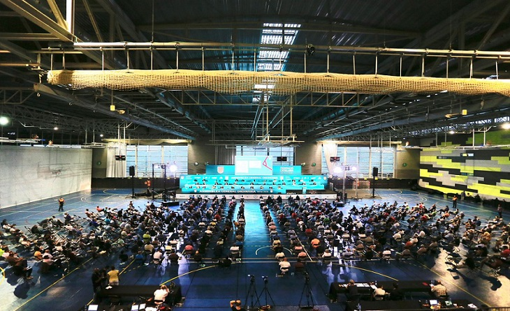 L'Assemblea de Blanes 2021 només va servir per a dividir encara més el futbol català // FOTO: FCF