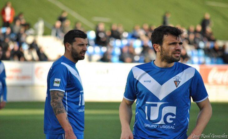 Moyano i Robusté han format un tàndem difícil d'oblidar a l'eix de la defensa badalonina // FOTO: José Raúl González