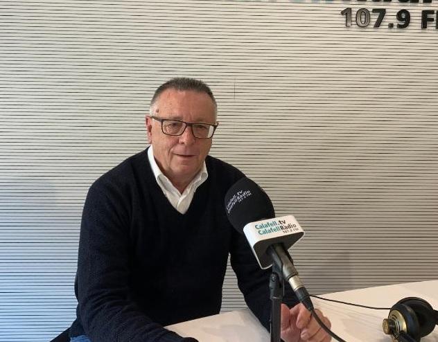 El president Paco Pérez no sap com tirar endavant la seva entitat després de l'amenaça escrita del Consistori // FOTO P.P.