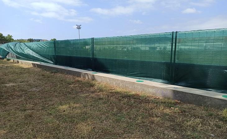 El 2023 és la data que s'ha marcat la directiva que presideix Luis Quiñonero per a tenir acabada la remodelació del camp // FOTO: AE Prat