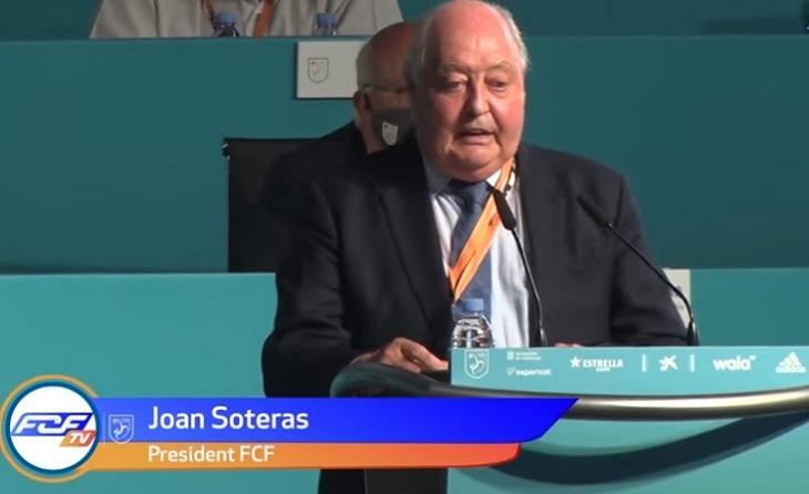 Joan Soteras, Assemblea Blanes