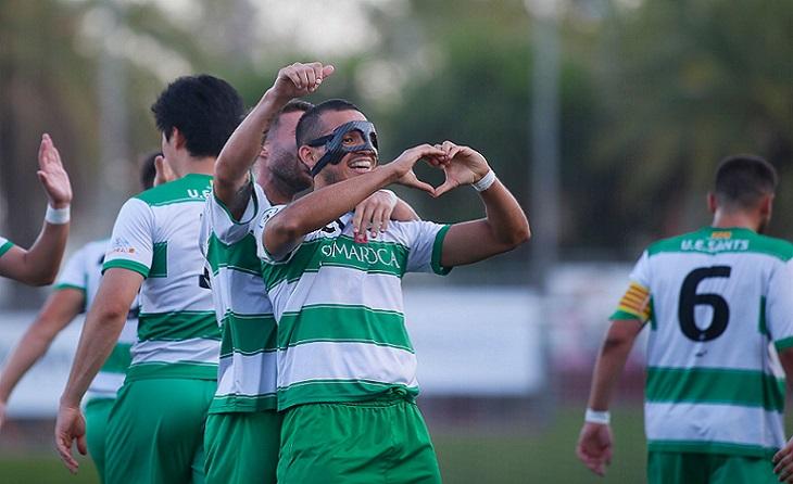 L'equip blanquiverde dirigit per Borja López (Tito Lossio?) va marcar en els seus dos partits // FOTO: Històrics