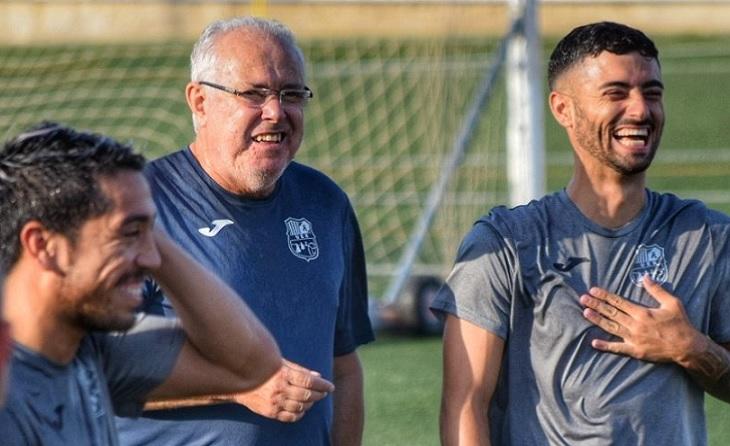 Jordi Oribe tindrà ara la gran oportunitat de coincidir amb el gran Toni Teixidó com a tècnic // FOTO: Rapitenca