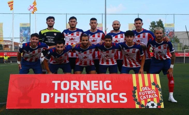 El Vilassar de Peque ha estat el primer equip que ha anotat un gol aquesta temporada encara que hagi estat a un Torneig // FOTO: HISTÒRICS 2021