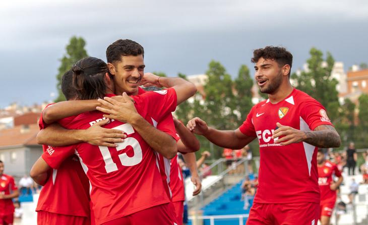 El Terrassa ha il·lusionat els seus amb gols i victòries a la pretemporada // FOTO: Terrassa FC