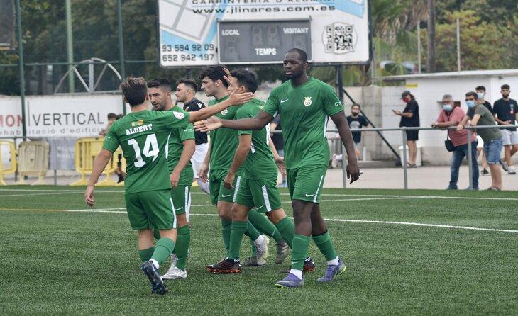 Elhadji Baldeh, una de les referències ofensives dels vallesans // FOTO: Cerdanyola FC