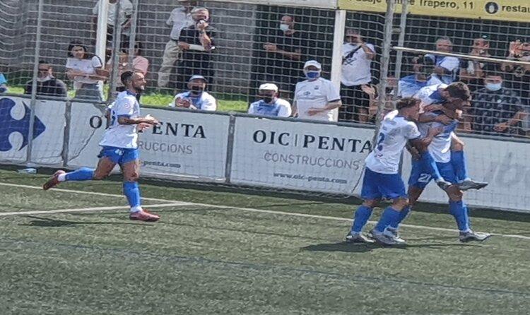 El Prat acaba tercer la segona jornada de lliga amb una victòria convincent // FOTO: Jordi Mestres