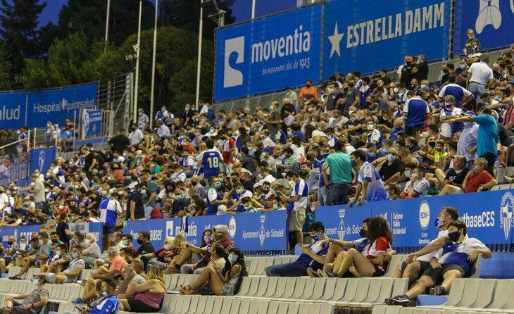 La massa social arlequinada actual és la més alta des que es tenen registres oficials // FOTO: CE Sabadell