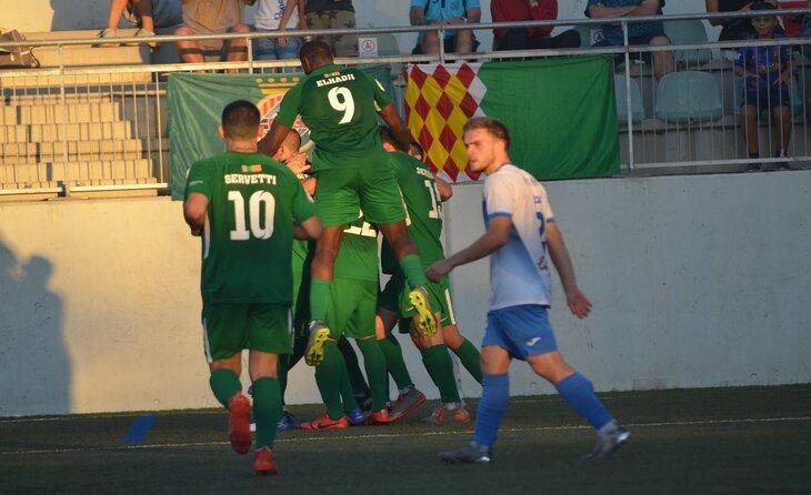 El Cerdanyola vol fer fort el seu fortí. De moment, sis de sis a Fontetes // FOTO: Cerdanyola FC