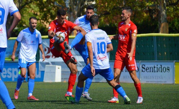 El Prat va imposar-se al Terrassa en un ajustat duel català // FOTO: Terrassa FC