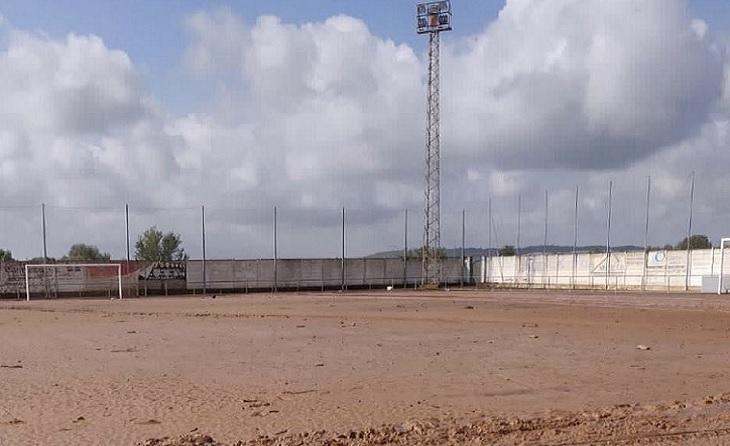 Camp de futbol d'un històric Centenari com és l'Alcanar // FOTO: @merceroyoadell