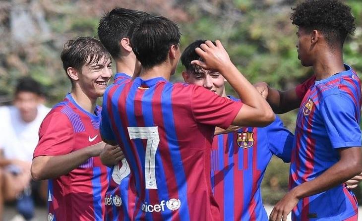 Barcelona B juvenil 2021-2022
