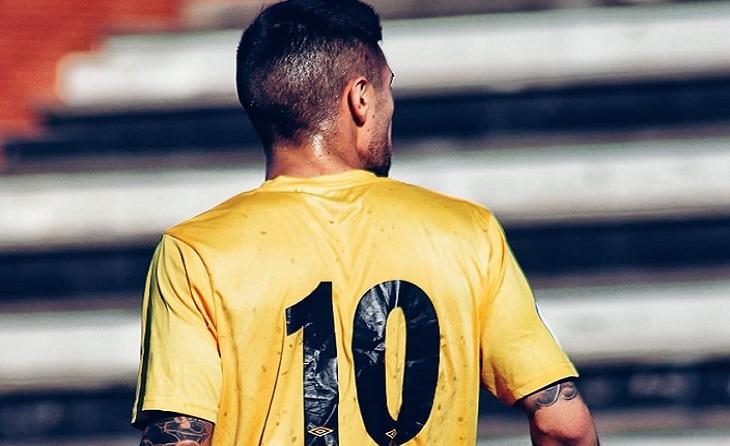 L'asturià de Castellò d'Empuries ja ha aconseguit tres gols en aquests 4 partits de Lliga // FOTO: CF Peralada