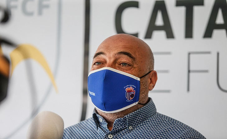 El president del Sant Crisóbal, Francisco Manchado, és el representant dels clubs // FOTO: FCF