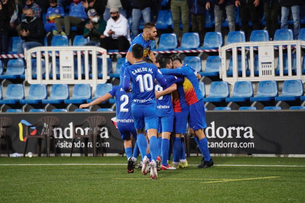 L'Andorra es va retrobar amb la victòria // FOTO: FC Andorra