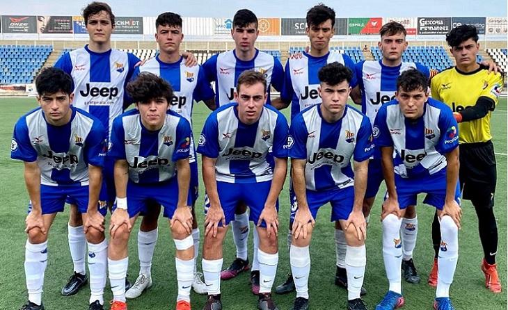 KhalidiMarco han aconseguit 10 dels 11 gols que ha marcat el Figueres juvenil // FOTO: UE Figueres